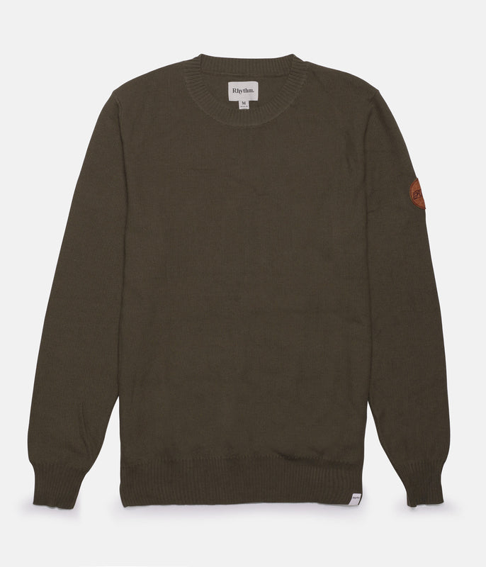 TOWN KNIT OLIVE