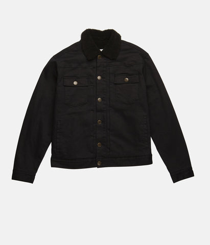 TRUCKER JACKET VINTAGE BLACK