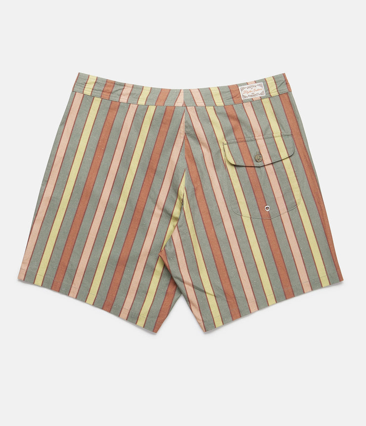 VINTAGE STRIPE TRUNK DUSTED