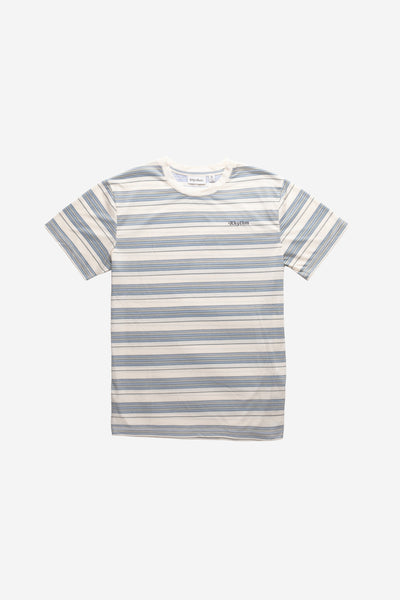 Everyday Stripe T-Shirt Mineral Blue