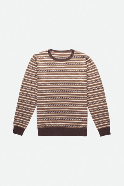 Vintage Stripe Knit Brown