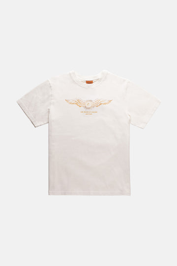 Flyer Vintage T-Shirt Vintage White