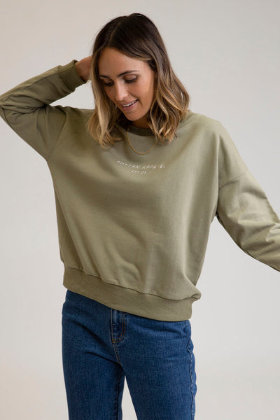 Weekend Pullover Olive