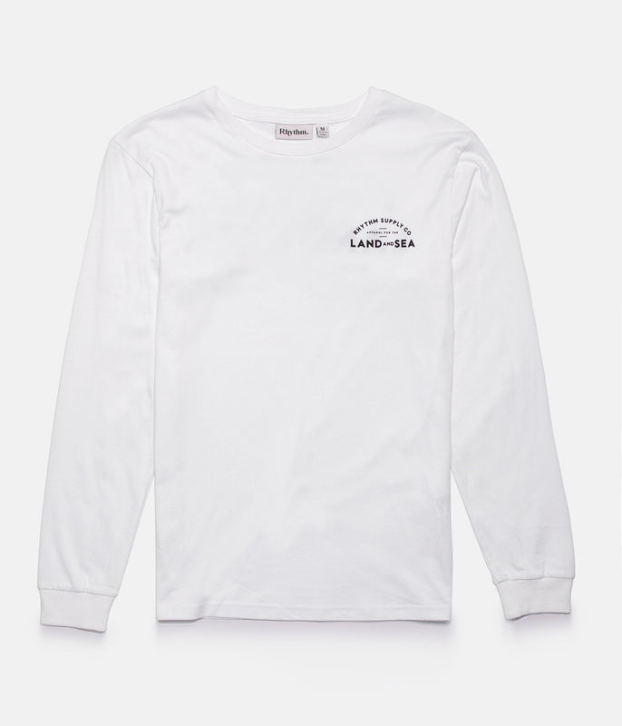 BLOCK LS T-SHIRT WHITE