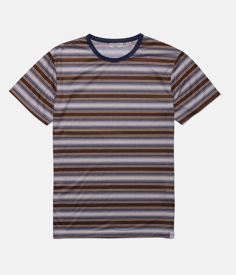 EVERYDAY STRIPE T-SHIRT VINTAGE TOBACCO