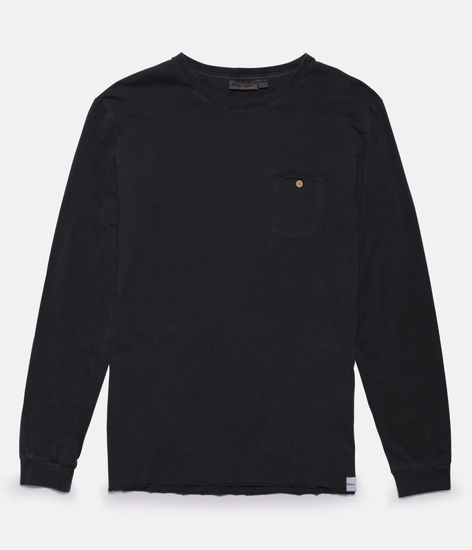 EVERYDAY WASH LS SHIRT CHARCOAL