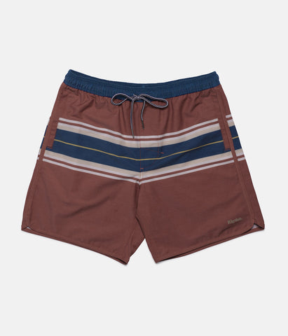 LOPEZ BEACH SHORT FADED RED