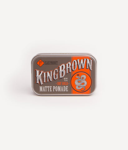 KING BROWN POMADE - MATTE