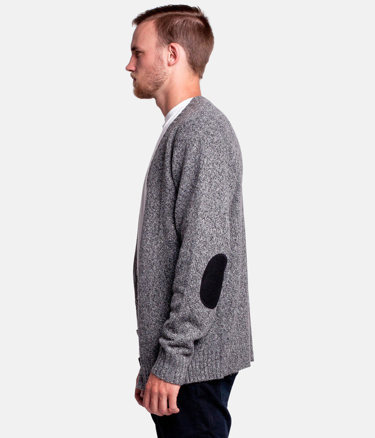 KURT CARDIGAN BLACK MARLE