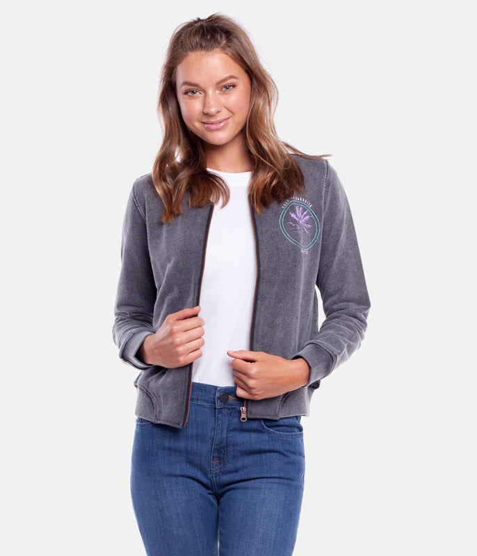LOST IN PARADISE BOMBER SLATE