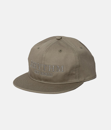 LABEL CAP DUSTED OLIVE