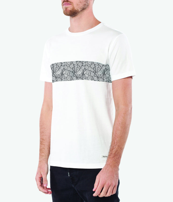 LEAF T-SHIRT WHITE