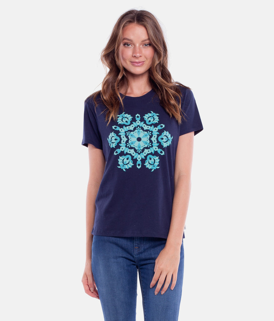 MARRAKECH TEE NAVY