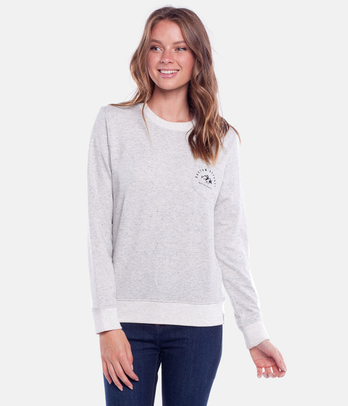 MOUNTAINS PULLOVER GREY MARLE