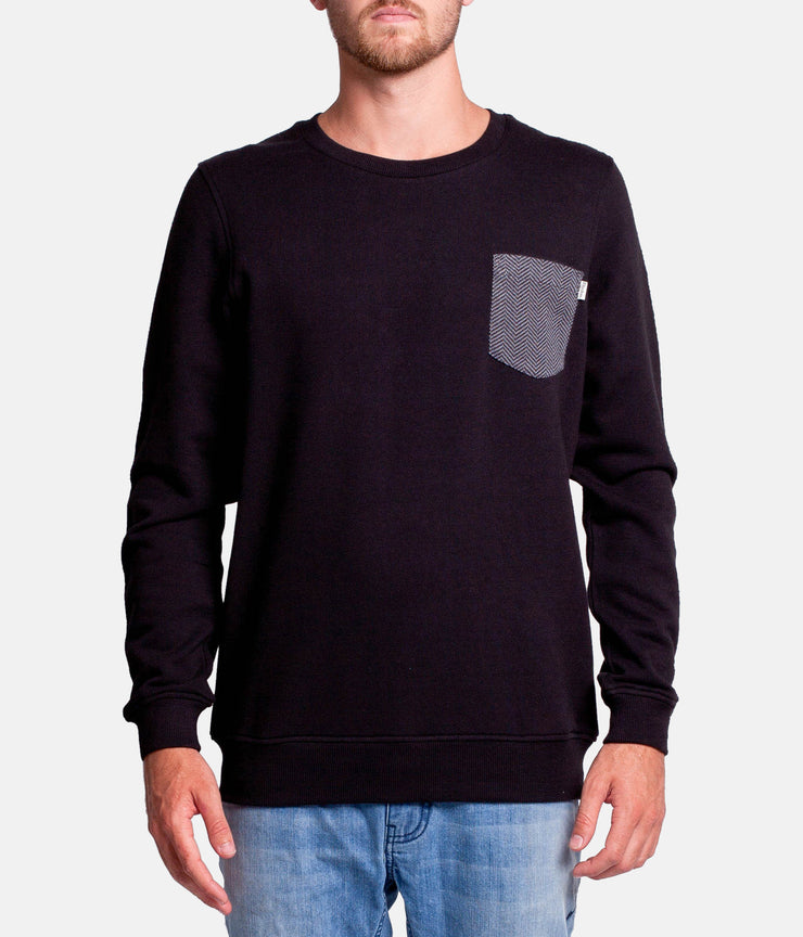 MY EVERYDAY PULLOVER BLACK