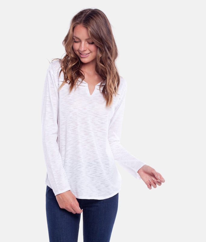 MY LONG SLEEVE TOP WHITE