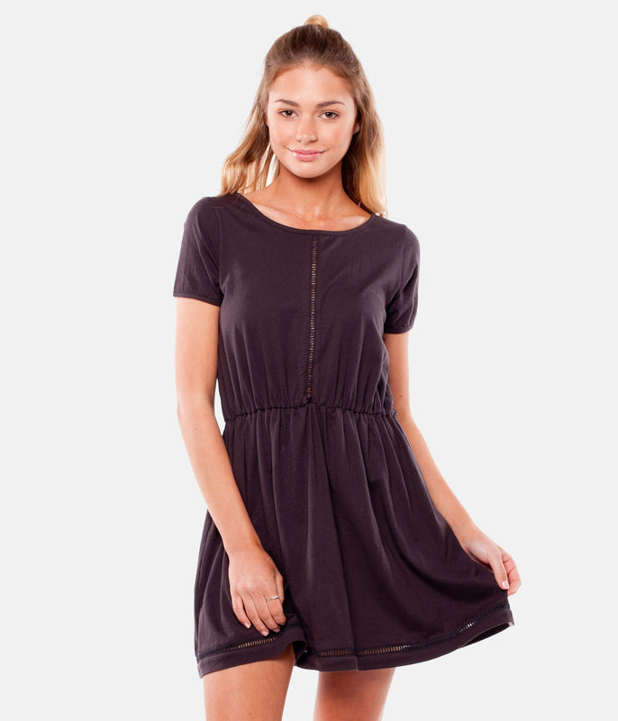 MY TEE DRESS ROCK BLACK