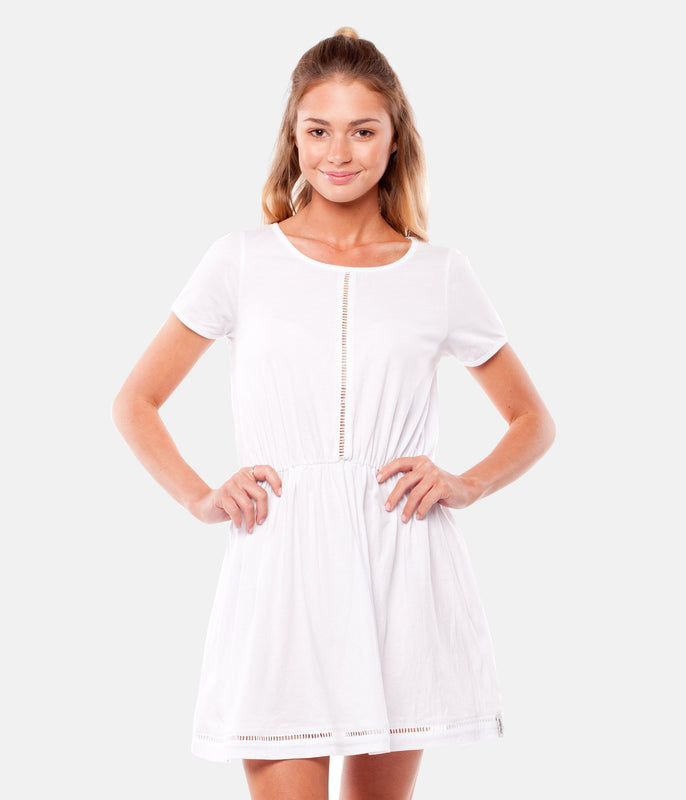 MY TEE DRESS WHITE