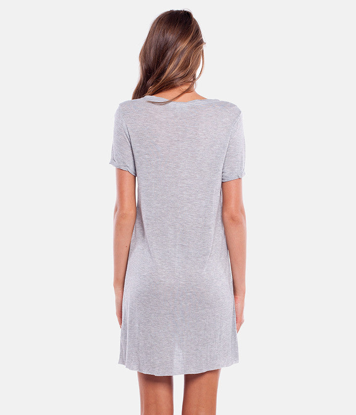 MY TEE TUNIC GREY MARLE