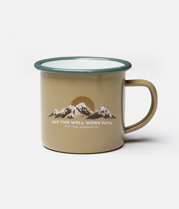 HIGHLANDS CAMP MUG YELLOW