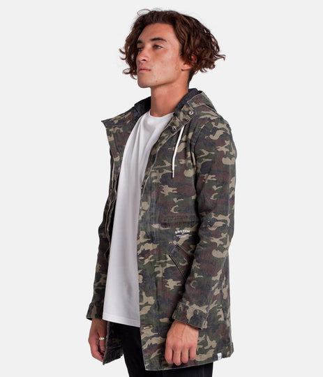 NEVERMIND JACKET CAMO