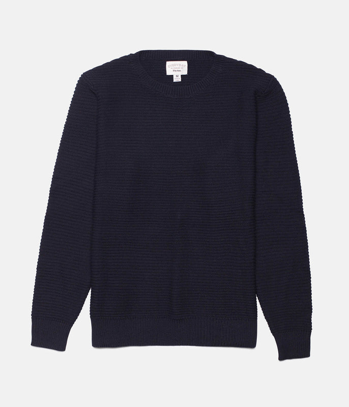 FISHERMAN KNIT MIDNIGHT NAVY
