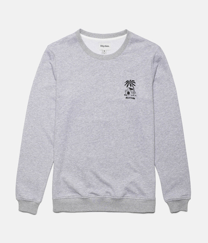 BUNGALOW PULLOVER GREY MARLE