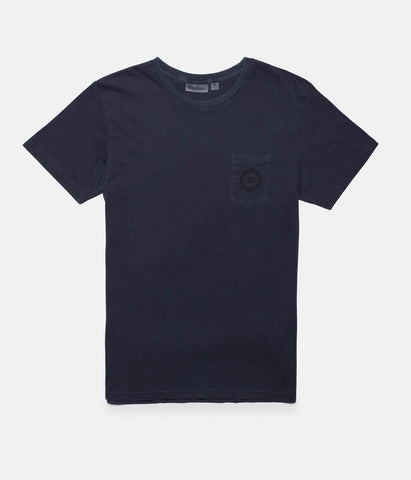 POCKET T-SHIRT DUSTED INDIGO