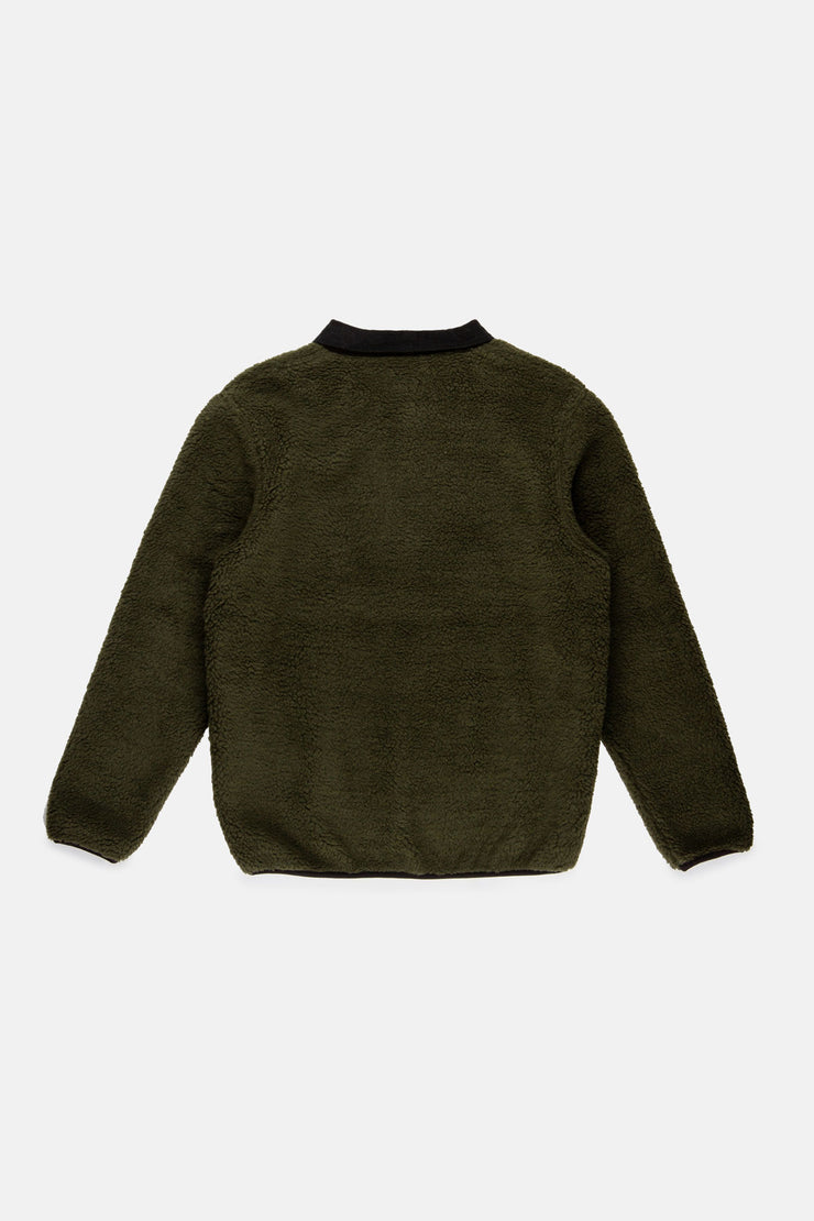 JAMES POLAR FLEECE OLIVE