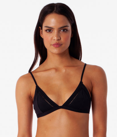 MY BRALETTE TOP BLACK