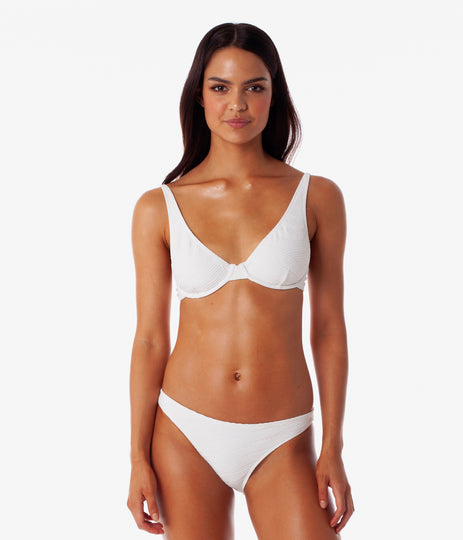 Maldives Underwire Top White