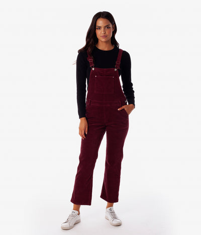EDINBURGH JUMPSUIT MERLOT