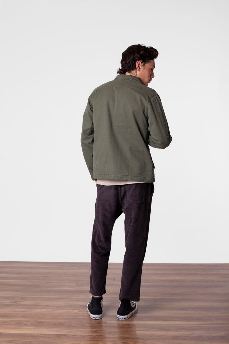 SURPLUS COAT OLIVE