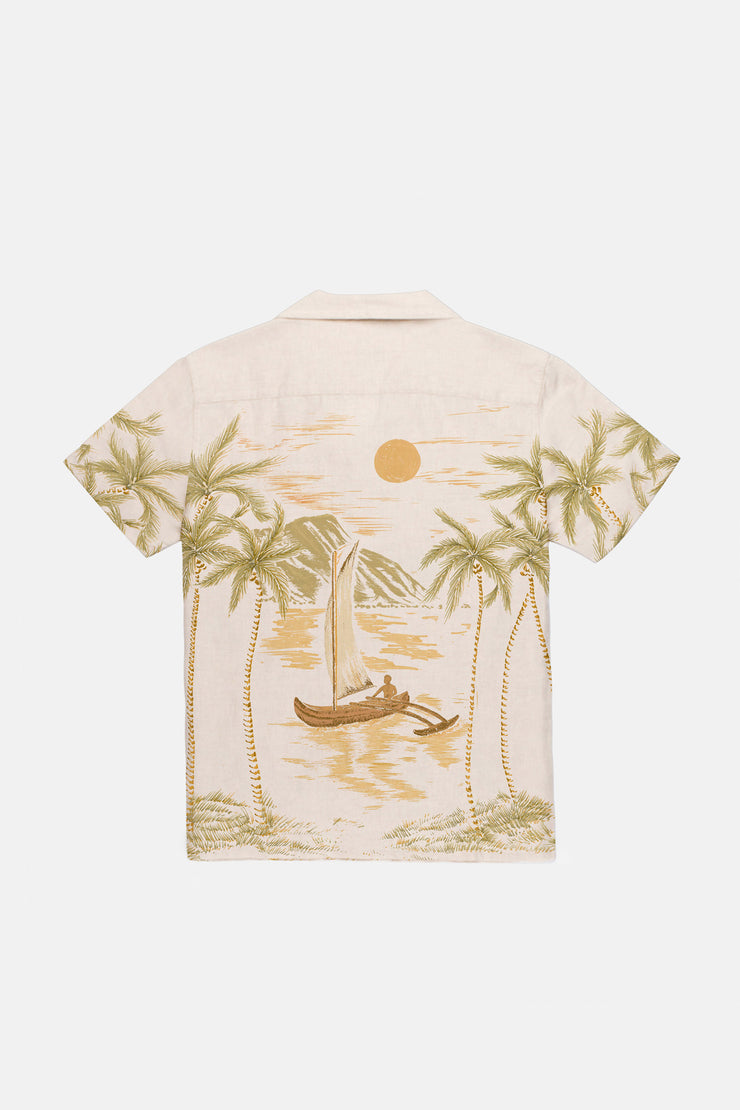 Islander Ss Shirt Honey