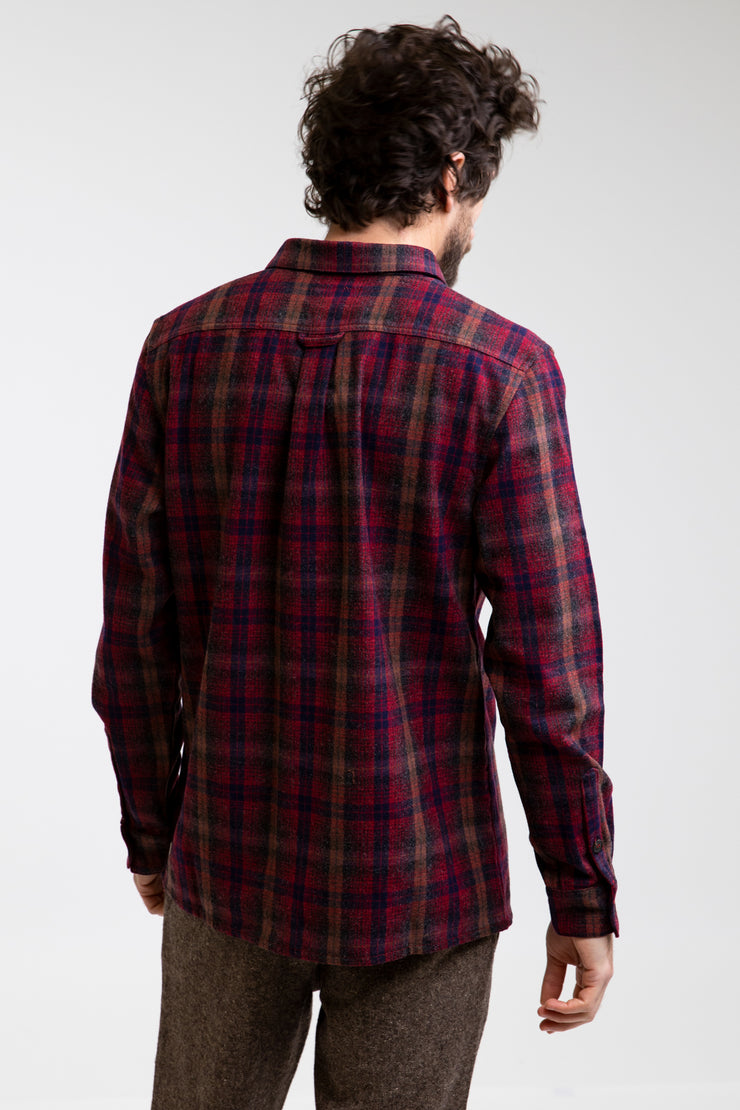 Overwinter Ls Shirt Classic Red