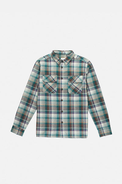 Overwinter Ls Shirt Teal
