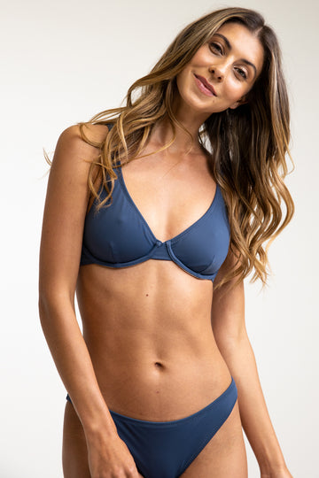 Narrow Underwire Top Midnight