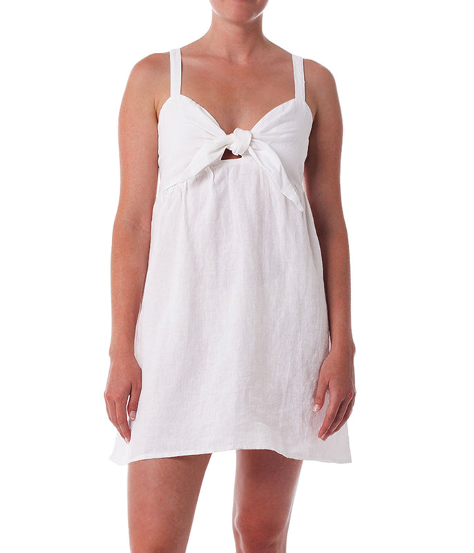 NEWPORT DRESS WHITE