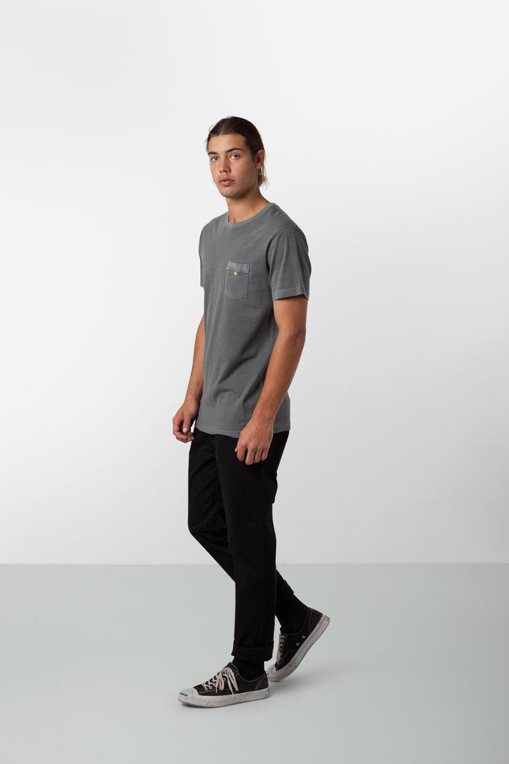 EVERYDAY WASH T-SHIRT WASHED OUT SLATE