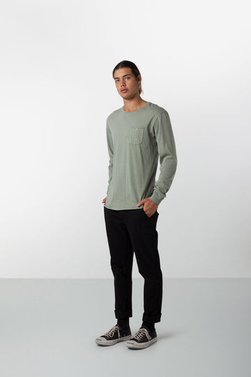 EVERYDAY WASH LS SHIRT SAGE