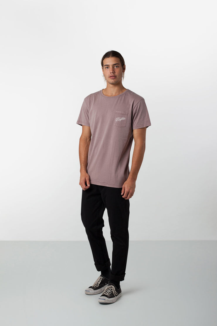 POCKET T-SHIRT OCHRE