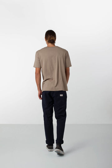 PATCH T-SHIRT DUSTY OLIVE