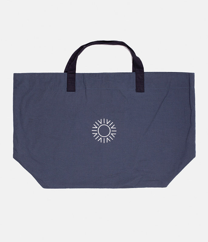 USE LESS BEACH TOTE NAVY