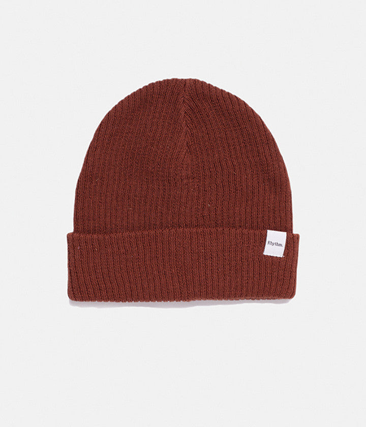 EVERYDAY BEANIE RICH BROWN