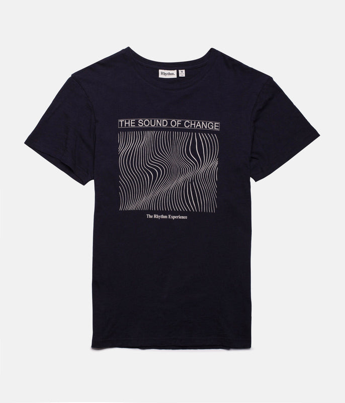 VIBRATIONS T-SHIRT DARK NAVY