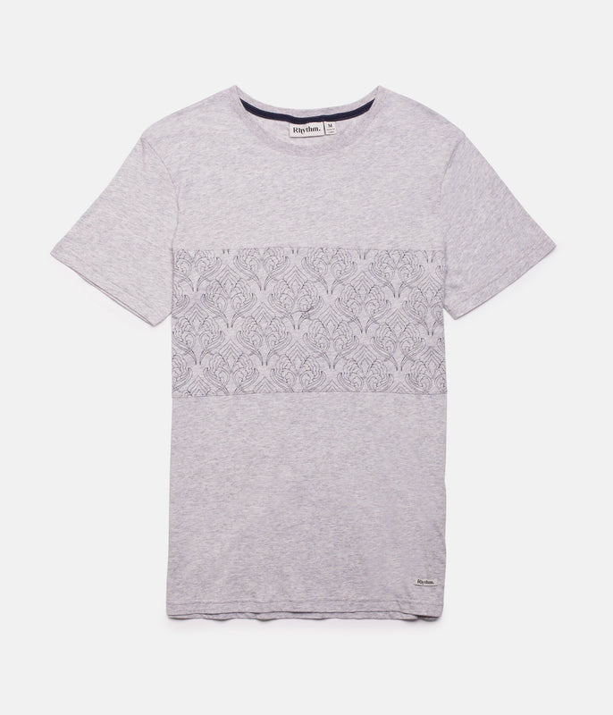 BANGALOW T-SHIRT GREY MARLE