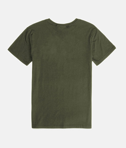 OVERGROWN T-SHIRT OLIVE