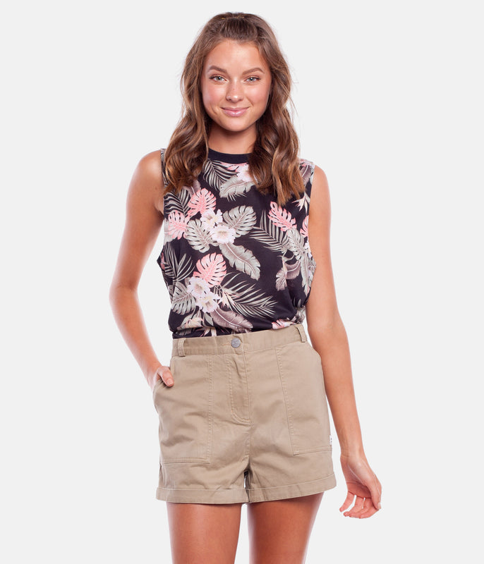 PACIFICA SHORTS TAUPE
