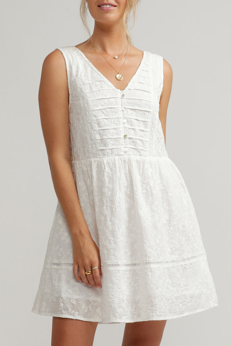 PENNY DRESS WHITE