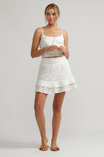 Penny Skirt White